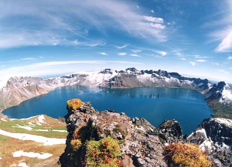 Heaven Lake, Paektu Mountain.