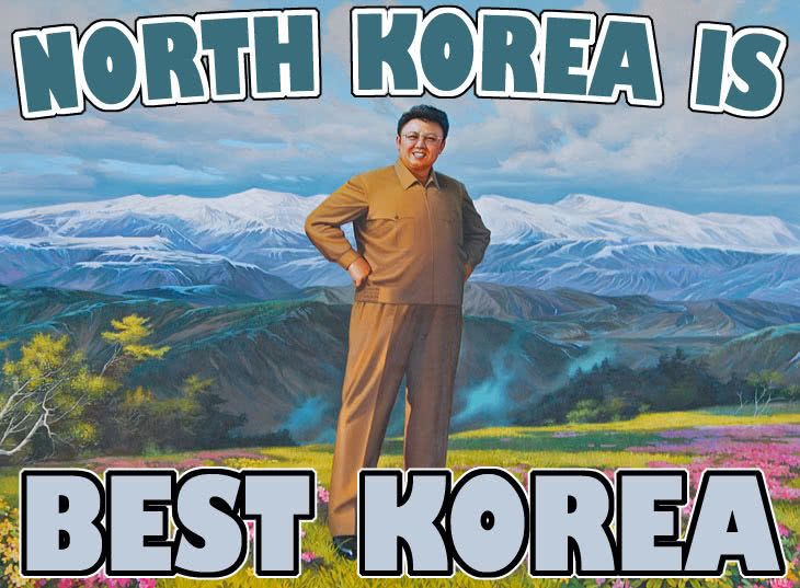 North Korea is best Korea.
