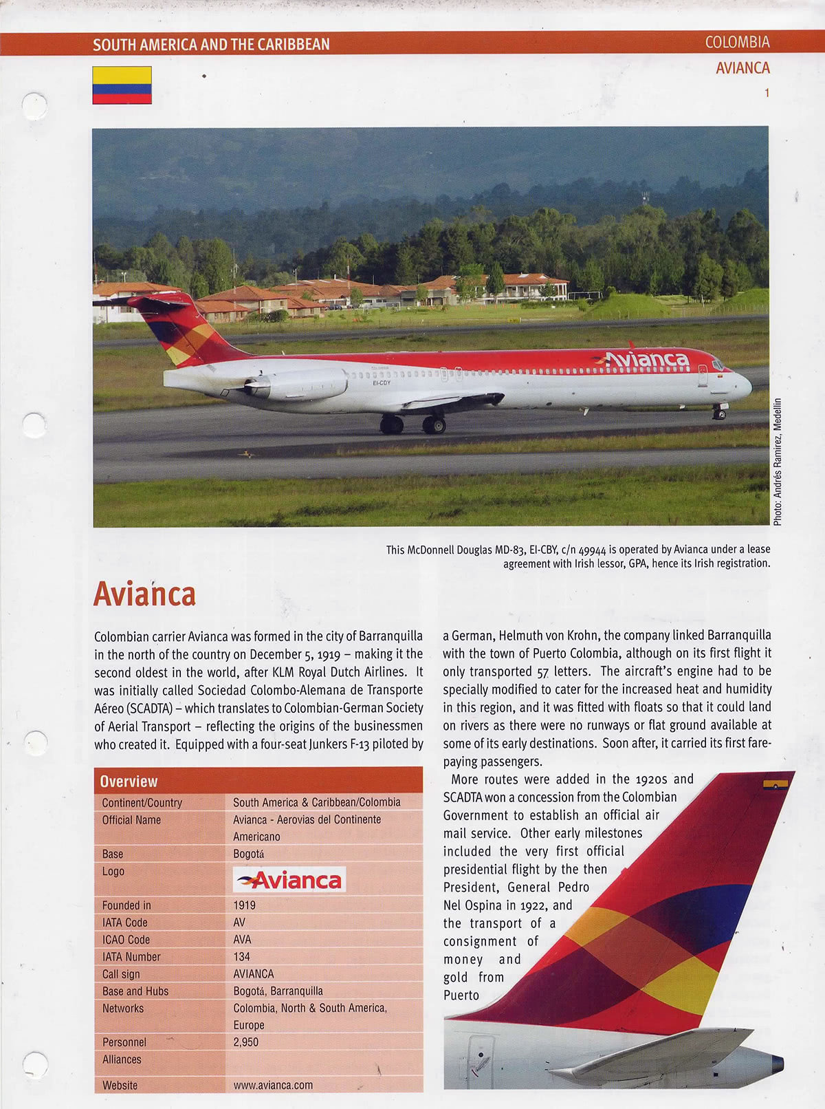Airlines - The Global Collection Avianca