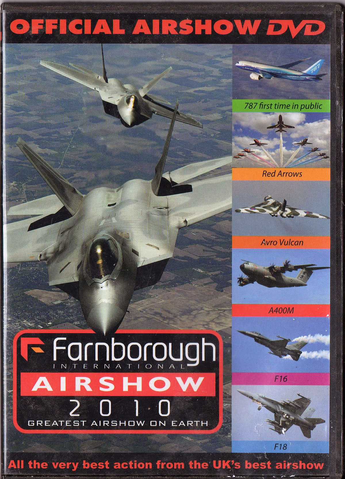 DVD oficial Farnborough 2010.